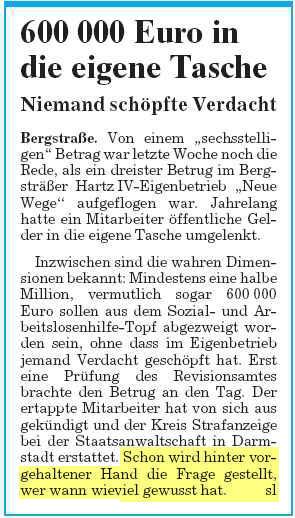 neue wege 600000 moerlenbach