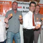 Berthold Pfeiffer und Stephan Krieger führen Odenwälder WASG –  Ex-Bürgermeister Hartmann wird Schatzmeister
