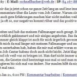 Hat die Abteilungsleiterin des Kommunalen Jobcenters Odenwaldkreis eine arbeitslose Doppelgängerin?