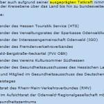 Peinlich:  Wie sich der kleine Odenwälder Landrat Horst Schnur selbst erhöht