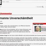 Fußball WM 2006: Klinsmanns Erfolg blamiert das deutsche Dreckblatt  BILD