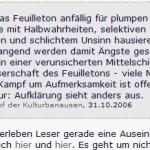 """Bullshit? Claudia Trossmann sprach: """"Lizas Welt gehört dem antideutschen Netzwerk an"""" – und ihr Kulturblog dem stalinistischen von Cain Külbel?"""