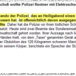 Polizeilich unterstützter Suizid in Heppenheim: SEK-Kommando feuerte auf lebensmüden Rentner 12 Schüsse ab