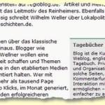 """Patrick Beuth ist """"Regionalen Weblogs""""  auf der Spur: """"Dummgebabbel und Lokalpolitik"""""""