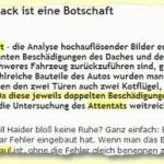 """Wisnewski und der Haider-""""Mummenschanz"""": Ist Gerhard gaga oder gar nur geldgeil?"""
