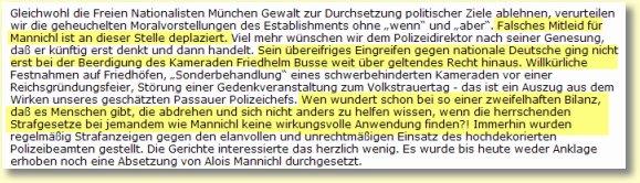Alois Mannichl - Hasselbach - Passau