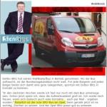 Behindert: Der Bus, der Blitz und die Blamage – Kommt Detlev via Opel in den Bundestag??