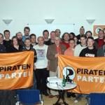 Guck an: Tim Guck Chefpirat in Heinertown – Piratenpartei ankert in Darmstadt und Dieburg