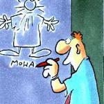 Pressefreiheit 2010: Karikaturist Kurt Westergaard rettet sich vor Killer in Panic Room