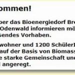 Bioenergiedorf Rai-Breitenbach eG fast pleite – Vorstand von Amt entbunden